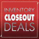 CLOSEOUT ITEMS SELLING AT COST
